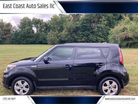 2017 Kia Soul for sale at East Coast Auto Sales llc in Virginia Beach VA