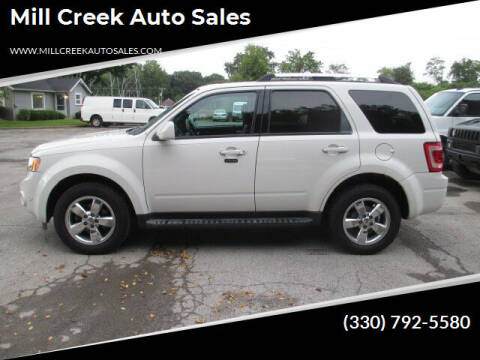 2011 Ford Escape for sale at Mill Creek Auto Sales in Youngstown OH