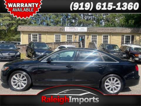 2014 Audi A6 for sale at Raleigh Imports in Raleigh NC