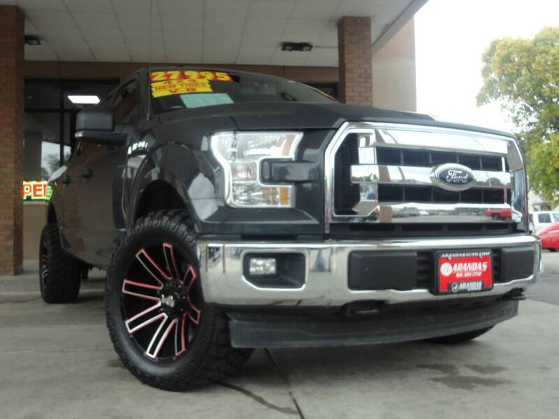 2017 Ford F-150 for sale at Arandas Auto Sales in Milwaukee WI