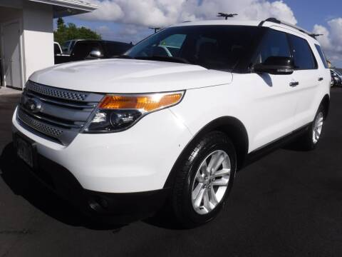2013 Ford Explorer for sale at PONO'S USED CARS in Hilo HI