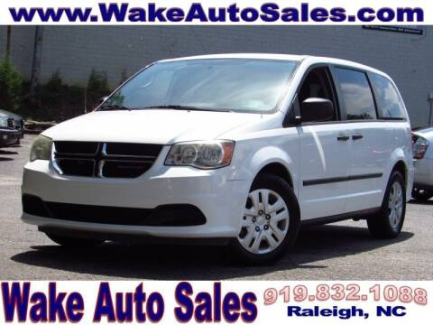 2014 Dodge Grand Caravan for sale at Wake Auto Sales Inc in Raleigh NC