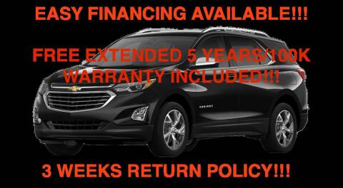 2019 Chevrolet Equinox for sale at Mikes Auto Forum in Bensenville IL