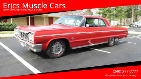 1964 Chevrolet Impala for sale at Erics Muscle Cars in Clarksburg MD