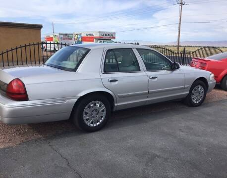 2008 Mercury Grand Marquis for sale at SPEND-LESS AUTO in Kingman AZ