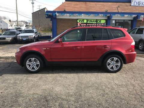 2006 BMW X3 for sale at Duke Automotive Group in Cincinnati OH