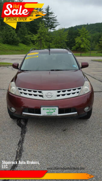 2007 Nissan Murano for sale at Shamrock Auto Brokers, LLC in Belmont NH
