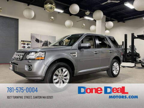 2013 Land Rover LR2 for sale at DONE DEAL MOTORS in Canton MA
