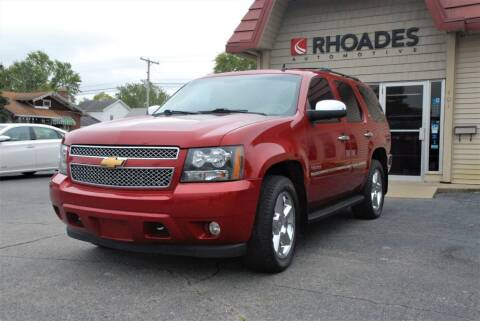 2013 Chevrolet Tahoe for sale at Rhoades Automotive Inc. in Columbia City IN