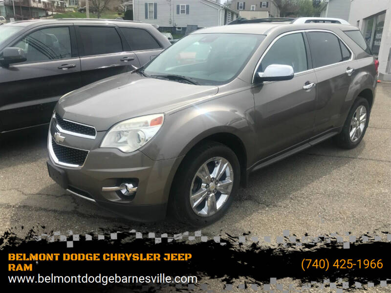 2012 Chevrolet Equinox for sale at BELMONT DODGE CHRYSLER JEEP RAM in Barnesville OH