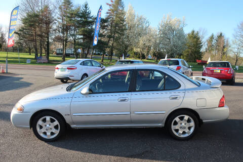 2006 Nissan Sentra for sale at GEG Automotive in Gilbertsville PA