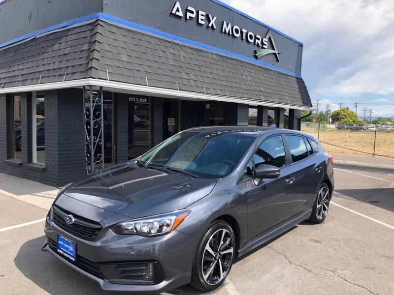2020 Subaru Impreza for sale at Apex Motors in Murray UT