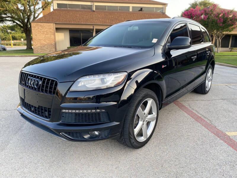 2014 Audi Q7 for sale at Big Time Motors in Arlington TX