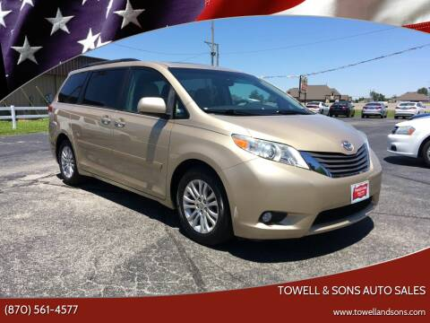 2011 Toyota Sienna for sale at Towell & Sons Auto Sales in Manila AR