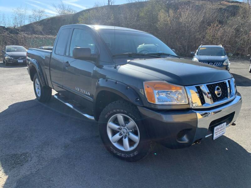 2009 Nissan Titan for sale at Bob Karl's Sales & Service in Troy NY