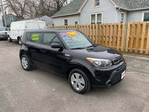 2015 Kia Soul for sale at PEKIN DOWNTOWN AUTO SALES in Pekin IL