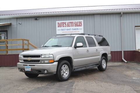 2004 Chevrolet Suburban for sale at Dave's Auto Sales in Winthrop MN