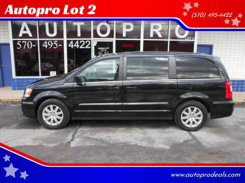 2016 Chrysler Town and Country for sale at Autopro Lot 2 in Sunbury PA