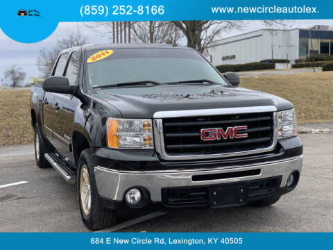 2011 GMC Sierra 1500 for sale at New Circle Auto Sales LLC in Lexington KY