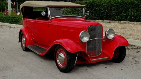 1932 Ford phaeton for sale at Premier Luxury Cars in Oakland Park FL