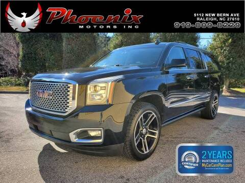 2015 GMC Yukon XL for sale at Phoenix Motors Inc in Raleigh NC