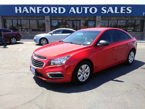 2016 Chevrolet Cruze Limited for sale at Hanford Auto Sales in Hanford CA