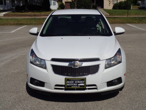 2014 Chevrolet Cruze for sale at MAIN STREET MOTORS in Norristown PA