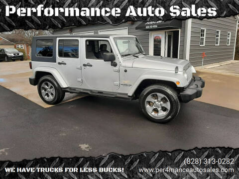 2007 Jeep Wrangler Unlimited for sale at Performance Auto Sales in Hickory NC