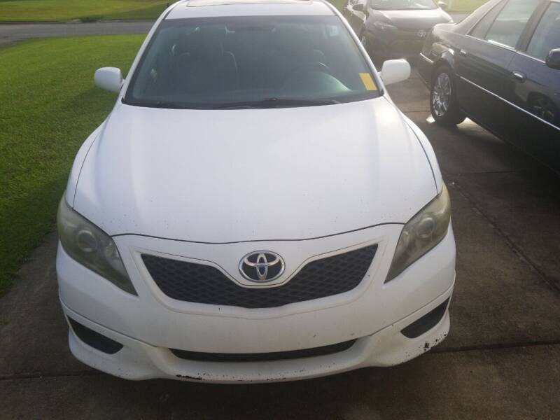 2011 Toyota Camry for sale at Webb's Automotive Inc 11 in Morehead City NC