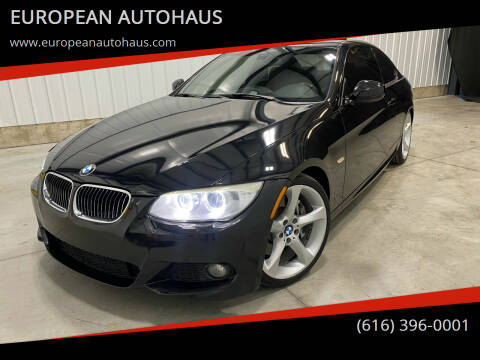 2012 BMW 3 Series for sale at EUROPEAN AUTOHAUS in Holland MI