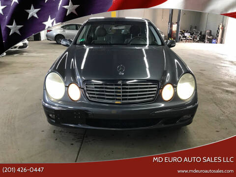 2005 Mercedes-Benz E-Class for sale at MD Euro Auto Sales LLC in Hasbrouck Heights NJ