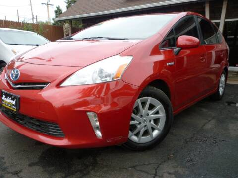 2012 Toyota Prius v for sale at Sindibad Auto Sale, LLC in Englewood CO