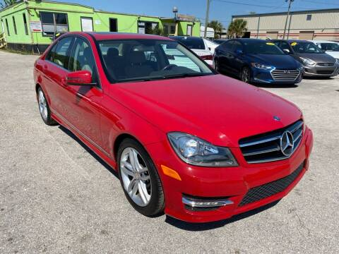 2014 Mercedes-Benz C-Class for sale at Marvin Motors in Kissimmee FL