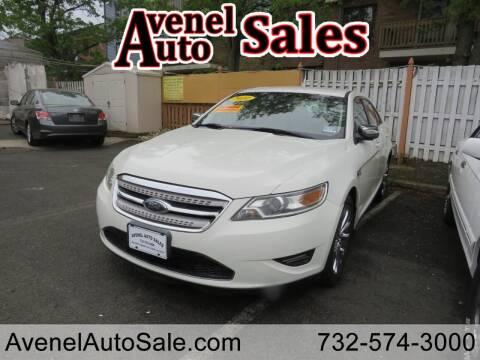 2010 Ford Taurus for sale at Avenel Auto Sales in Avenel NJ