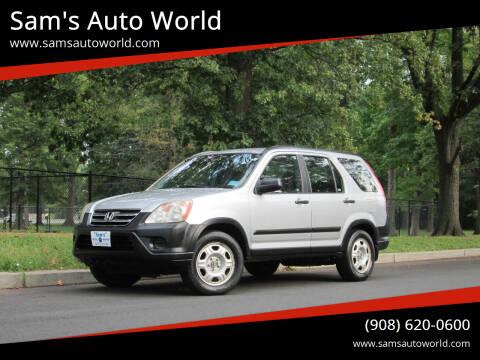 2006 Honda CR-V for sale at Sam's Auto World in Roselle NJ
