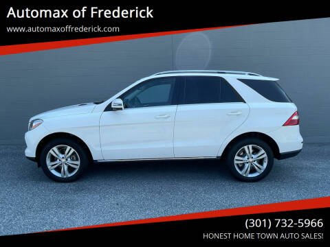 2015 Mercedes-Benz M-Class for sale at Automax of Frederick in Frederick MD