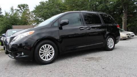 2011 Toyota Sienna for sale at NORCROSS MOTORSPORTS in Norcross GA