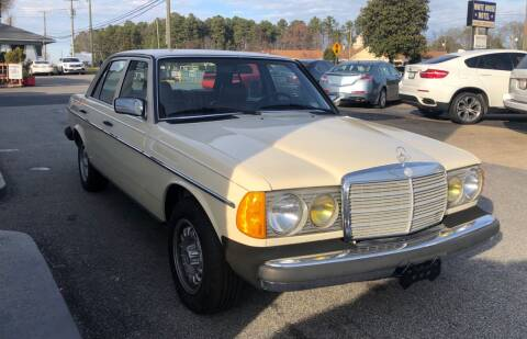 1983 Mercedes-Benz 300-Class for sale at RVA Automotive Group in North Chesterfield VA