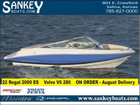 2022 Regal 2000 ES for sale at SankeyBoats.com in Salina KS