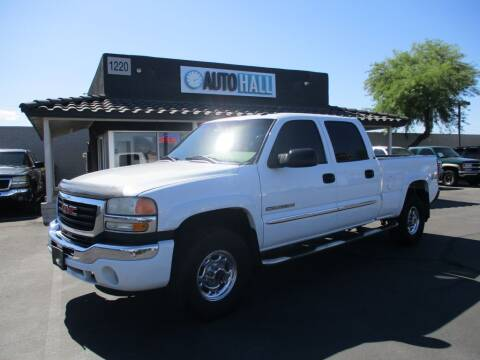 2003 GMC Sierra 2500HD for sale at Auto Hall in Chandler AZ