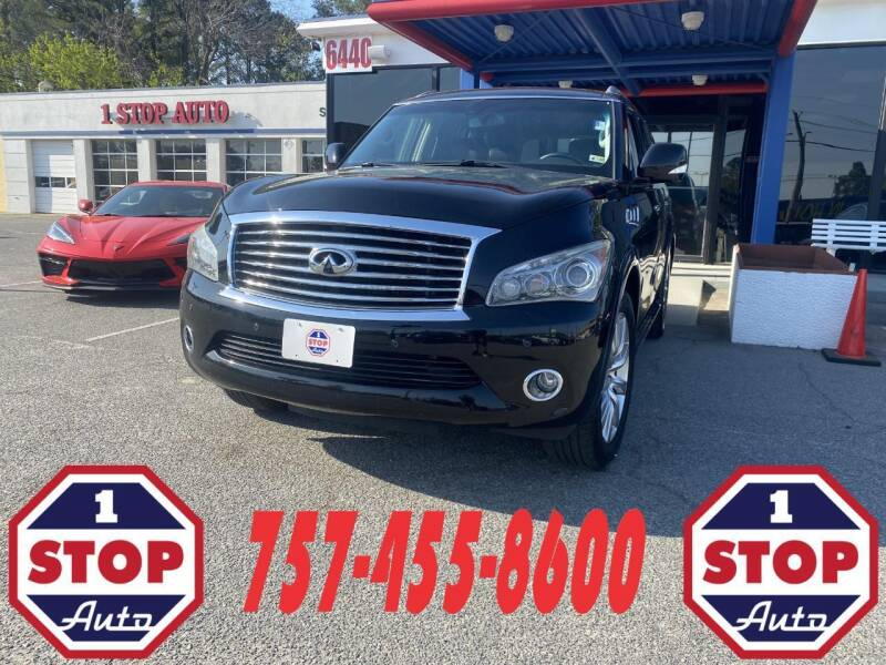 2014 Infiniti QX80 for sale at 1 Stop Auto in Norfolk VA