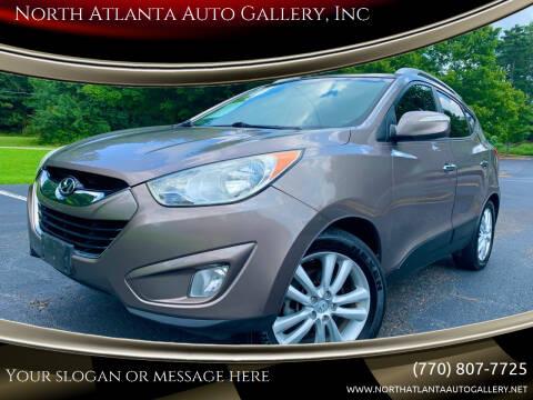 2012 Hyundai Tucson for sale at North Atlanta Auto Gallery, Inc in Alpharetta GA