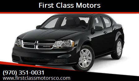 2014 Dodge Avenger for sale at First Class Motors in Greeley CO
