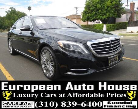 2017 Mercedes-Benz S-Class for sale at European Auto House in Los Angeles CA