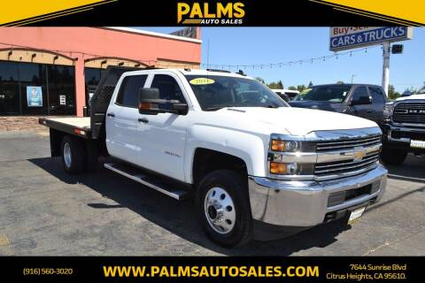 2016 Chevrolet Silverado 3500HD - Diesel for sale at Palms Auto Sales in Citrus Heights CA