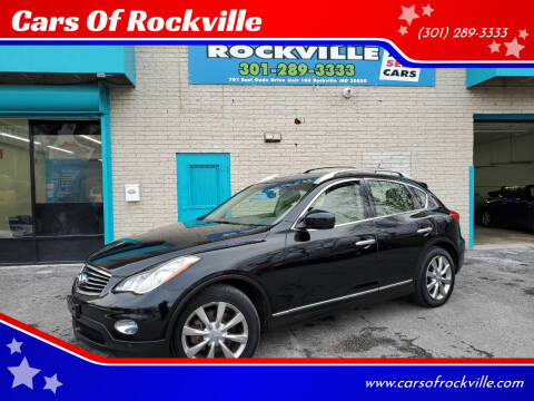 2011 Infiniti EX35 for sale at Cars Of Rockville in Rockville MD