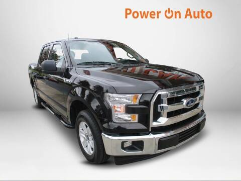 2017 Ford F-150 for sale at Power On Auto LLC in Monroe NC