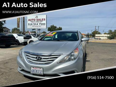 2011 Hyundai Sonata for sale at A1 Auto Sales in Sacramento CA
