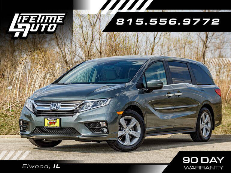 2018 Honda Odyssey for sale at Lifetime Auto in Elwood IL