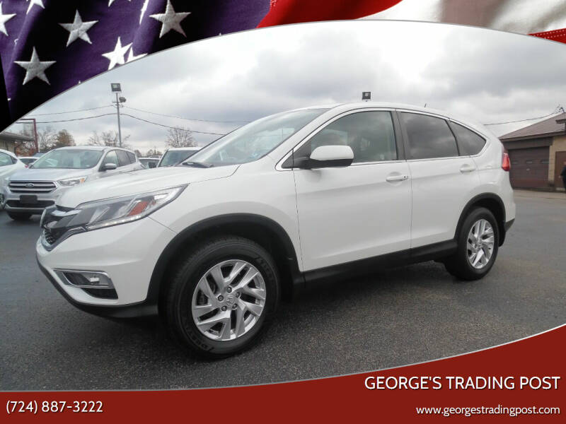 2016 Honda CR-V for sale at GEORGE'S TRADING POST in Scottdale PA